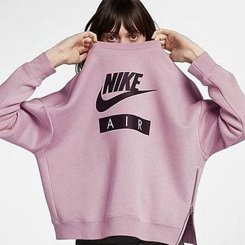 Nike women's new sportswear loose-fitting casual jumper hoodie