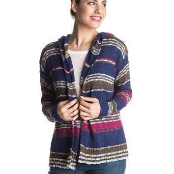 Misty Seas Stripe Sweater ERJSW03141 | Roxy