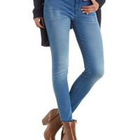 Lt Wash Denim Skin Tight Legging Jeans by Charlotte Russe