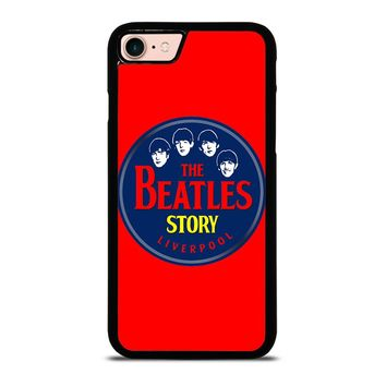 THE BEATLES STORY LIVERPOOL iPhone 8 Case