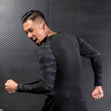 Men's Long Sleeve Compression Shirt for Workout