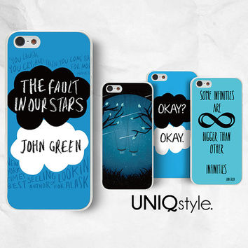 The Fault in Our Stars phone case - John Green phone case for Sony Xperia Z, Z1, Z1s, Z2, Z1 compact, Z Ultra, Xperia V - L74