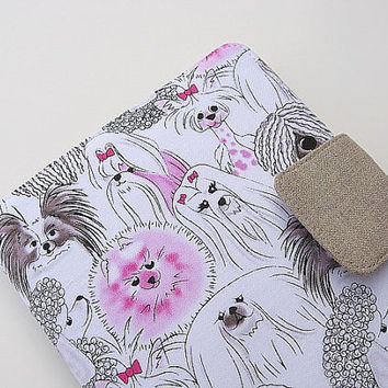 Kindle Cover Kindle Fire Cover Nook Simple Touch Cover iPad Mini Cover Kobo Cover Case Dogs Yorkie Pomeranian Pekingese Puli Papallion