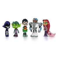 Teen Titans 2 Inch Figures - 6 Pack