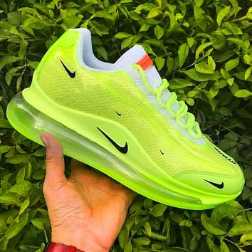Running shoes men's Nike Air Max 720 Heron Preston Big Hook Fluorescent green