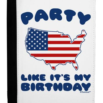 Party Like It's My Birthday - 4th of July Ipad Mini Fold Stand Case by TooLoud