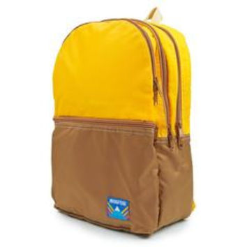 Two Tone Wilson Backpack in Saffron Chocolate