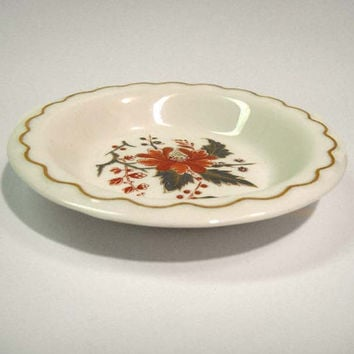 Royal Worcester Lynbrook Fine Bone China Pin Dish Butter Pat Ring Trinket