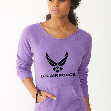 U.S. Air Force miller 92ladies sweatshirt