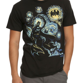 DC Comics Batman Starry Night T-Shirt