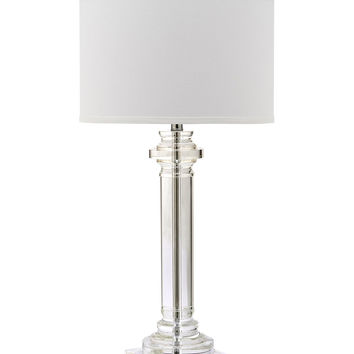 Safavieh Nina Column Table Lamp - White