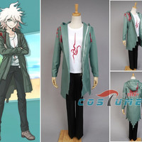 Super Dangan Ronpa 2 DanganRonpa Nagito Komaeda Coat Anime Halloween Cosplay Costume Jacket For Women Men