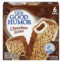 Good Humor Chocolate Éclair Ice Cream 6-pk.