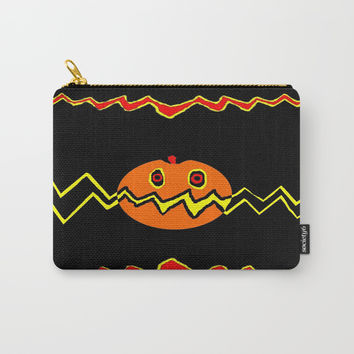Citrouille 02 Carry-All Pouch by Zia