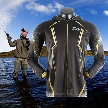 Hiking Shirt Combat 2018 High Quality Outdoor Men Sportswear Original Creative Design Fishing Jersey Moisture Wicking Unique Hooded-clothing KO_15_1