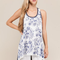Emily Floral Tank