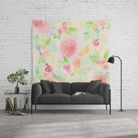 summer flowers Wall Tapestry by sylviacookphotography