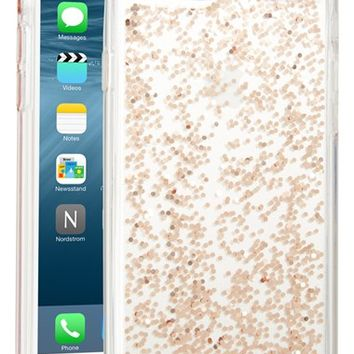 kate spade new york glitter iPhone case (6/6s & 6/6s Plus) | Nordstrom