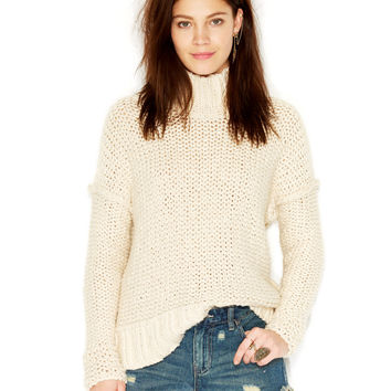 Free People Long-Sleeve Turtleneck Sweater