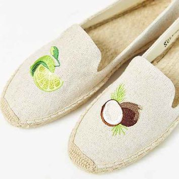 Soludos Embroidered Espadrille Loafer