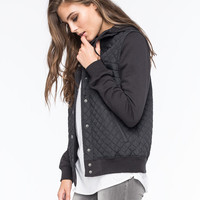 RVCA Quilted Womens Jacket | Jackets