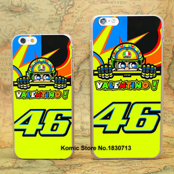 toalla valentino rossi vr 46 Design hard transparent clear Skin Cover Case for Apple iPhone 7 6 6s Plus SE 5 5s 4 4s 5c
