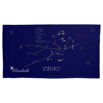 Constellation VIRGO unique, impressive Pillow Case