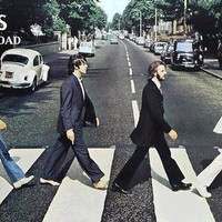 Beatles Abbey Road Album Cover Poster 22x34