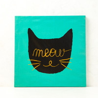 Meow Wall Canvas
