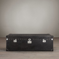 Mayfair Steamer Trunk Large Coffee Table