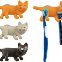 Cat Toothbrush Holder in colored box