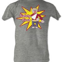Mr. Bill Safety First T-Shirt | Old School Tees