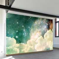 Spacey Wall Mural