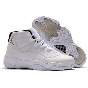 New 2018 Jordan Retro 11 XI Men Basketball shoes Black Devil white cat Velvet Heiress Athletic Outdoor Sport Sneakers 41-46