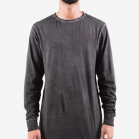 L/S Raw Tail Tee (Antique Charcoal)