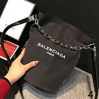 Balenciaga 2018 Summer New Fashionable Women's Hipster Messenger Bag F-AGG-CZDL NO.4