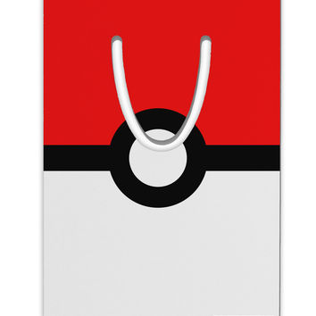 Sporty Red and White Circle Aluminum Paper Clip Bookmark All Over Print
