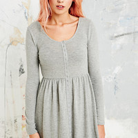 Cooperative Flippy Jersey Dress in Grey - Urban Outfitters