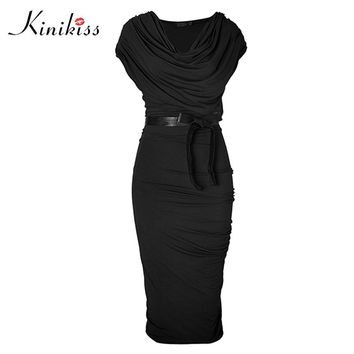 Women office dress new spring black short sleeve gray sheath dress fashion sexy office dresses