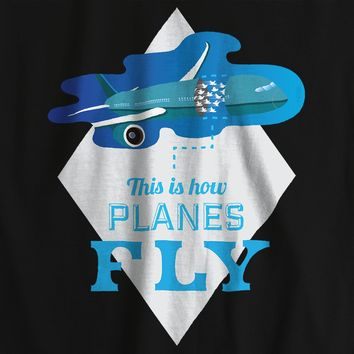 Planes Fly Travel Funny T-shirt