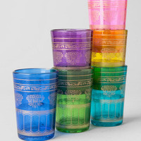 Set Of 6 Colorful Votives