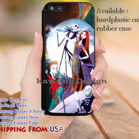 Lovely Couple Nightmare Before Christmas iPhone 6s 6 6s+ 5c 5s Cases Samsung Galaxy s5 s6 Edge+ NOTE 5 4 3 #cartoon #animated #NightmareBeforeChristmas dl11