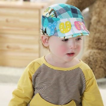 Baby Boy Girl Kid Toddler Infant Hat Peaked Baseball Beret Cap