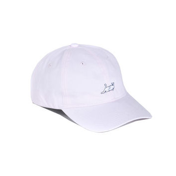 CASTANZA DAD HAT LIGHT PINK | RIPNDIP