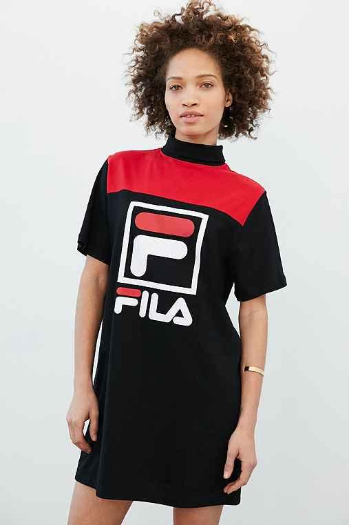 a33716047c FILA + UO Jessica T-Shirt Dress from Urban Outfitters