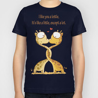 Lottle Love Cute Giraffe  Kids T-Shirt by Lottle