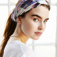 Garden Floral Headscarf - Urban Outfitters