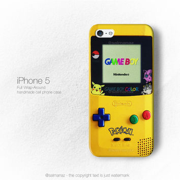 Gameboy Pokemon Video Games Nintendo Console iPhone 5/5s 5c Case, iPhone 4/4s Cover