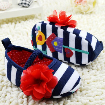 Tiny Baby Shoes | Garden Ballerina