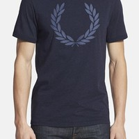 Men's Fred Perry Chambray Laurel Wreath